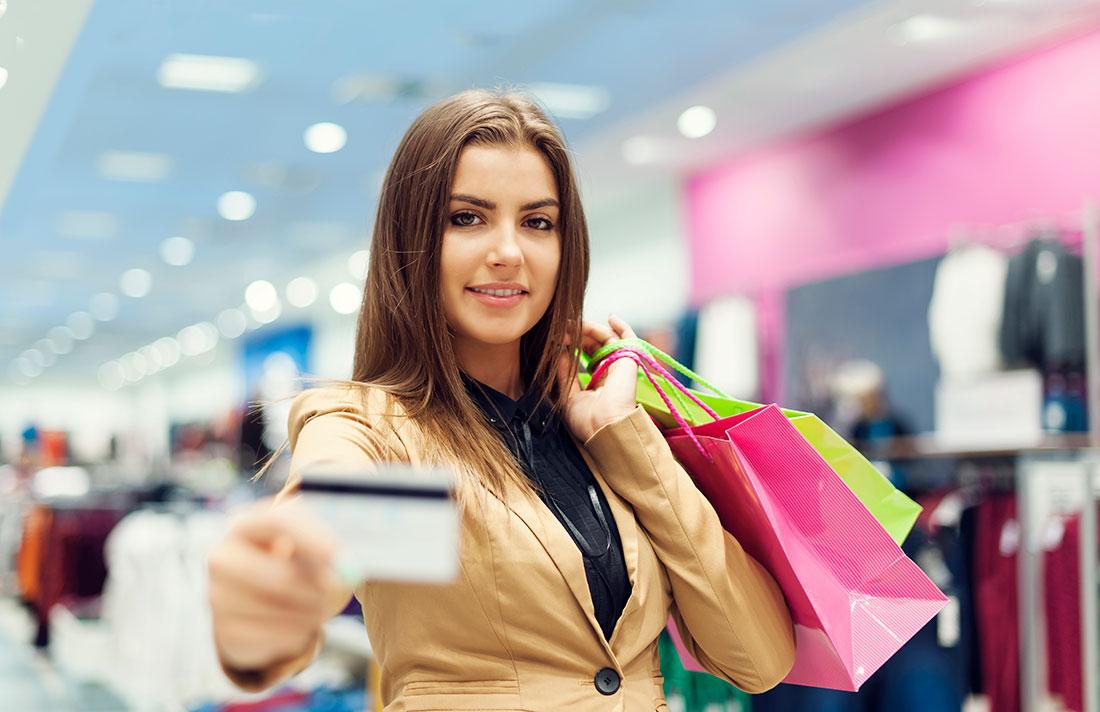 шоппинг с картой